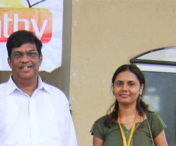 Dr. Anuradha with Dr Prafull Vijaykar_https://primavarahomeopathy.com